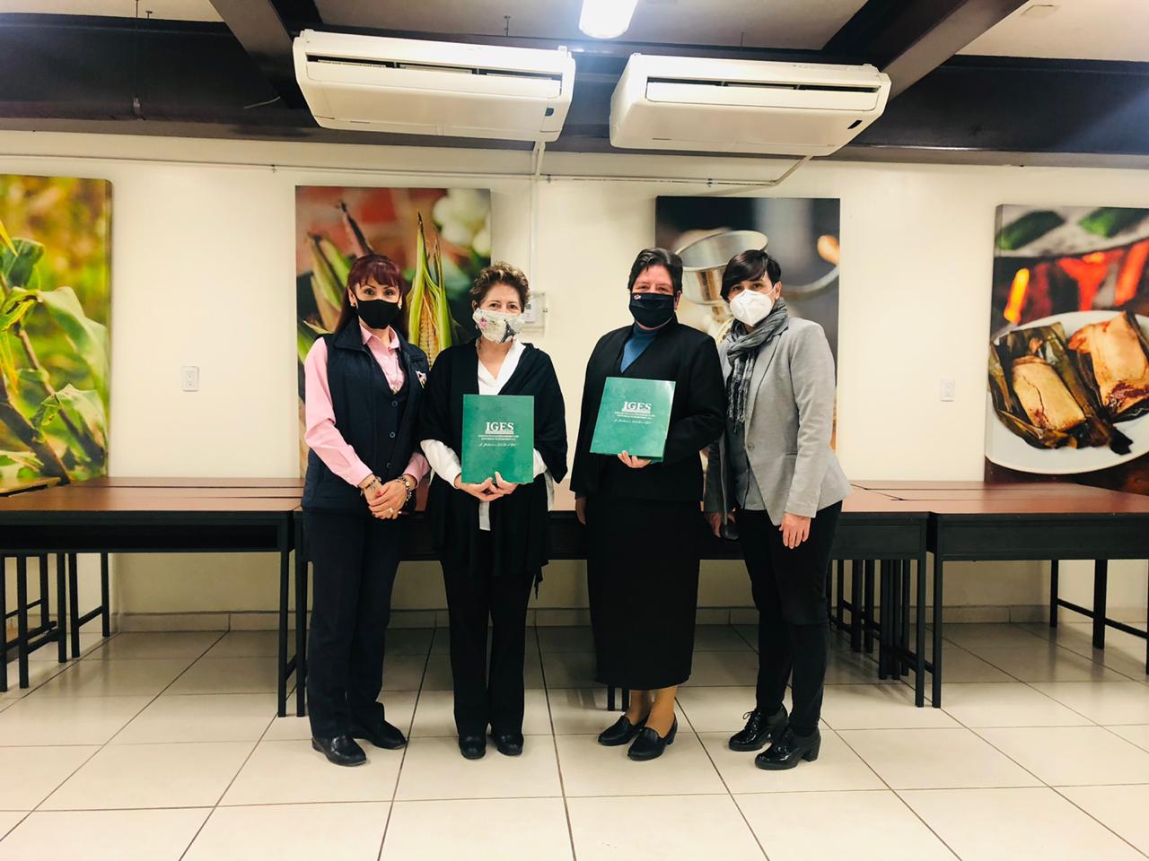 Firma de convenio IGES Universidad – Instituto La Paz Querétaro